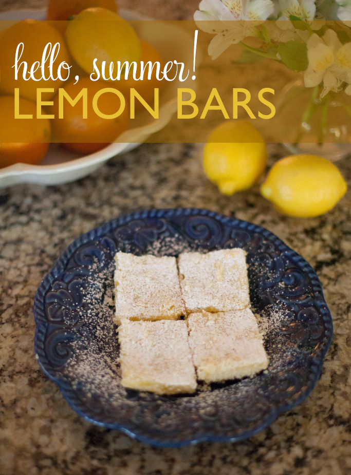 Lemon Bars Recipe - Love Always, Audrey Blog