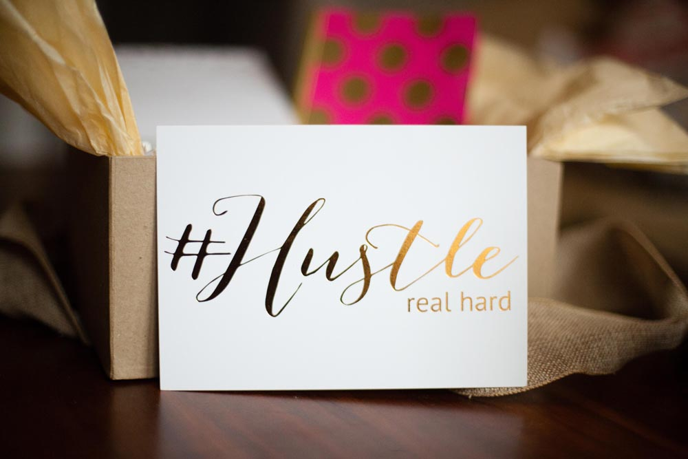 Bluebonnet Lane | Work Hard, #Hustle Harder Box on Love Always, Audrey