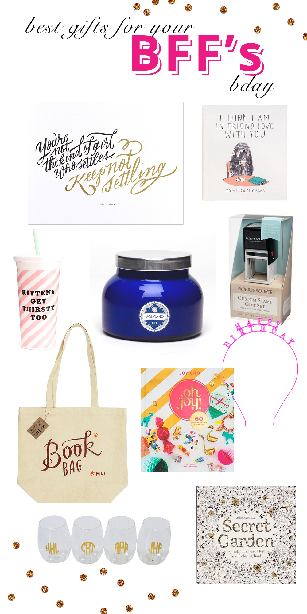 best gifts for your best friend's birthday