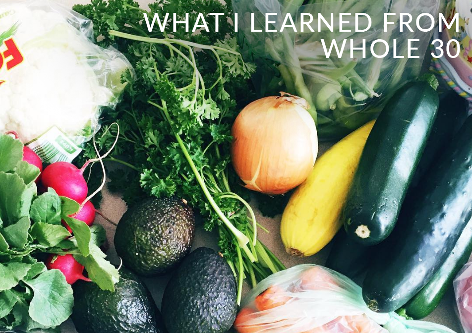 What I Learned From Whole30