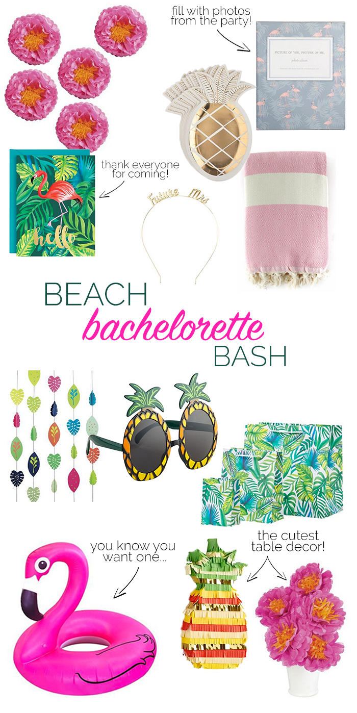 How To Decorate For A Beach Bachelorette Party