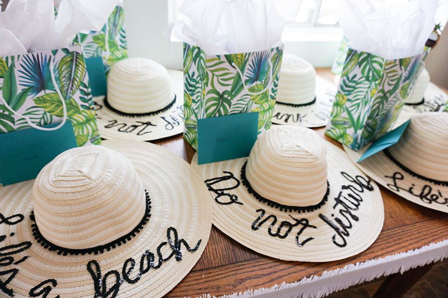 Fun in the sun! Throw the best beach bachelorette party!