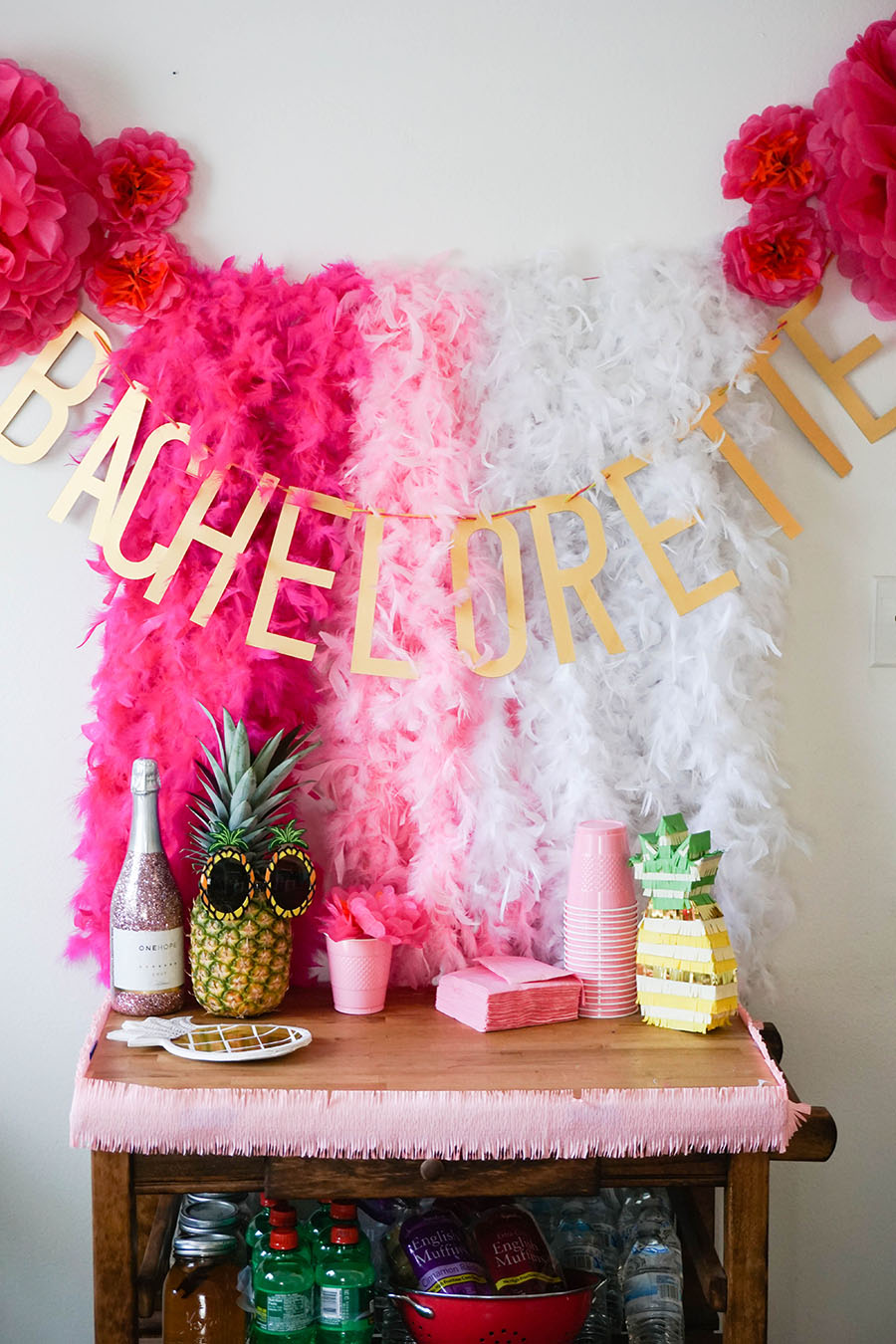 For when your friend is the pinapple of your eye -- throw her the best beach bachelorette party!