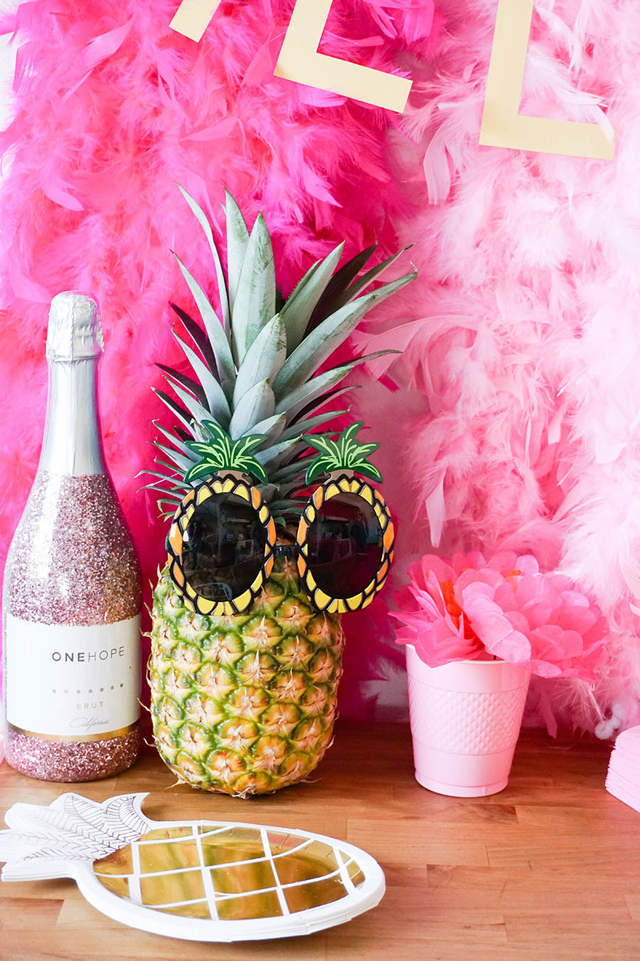 For the pineapple and summer obsessed: a fun beach bachelorette party!