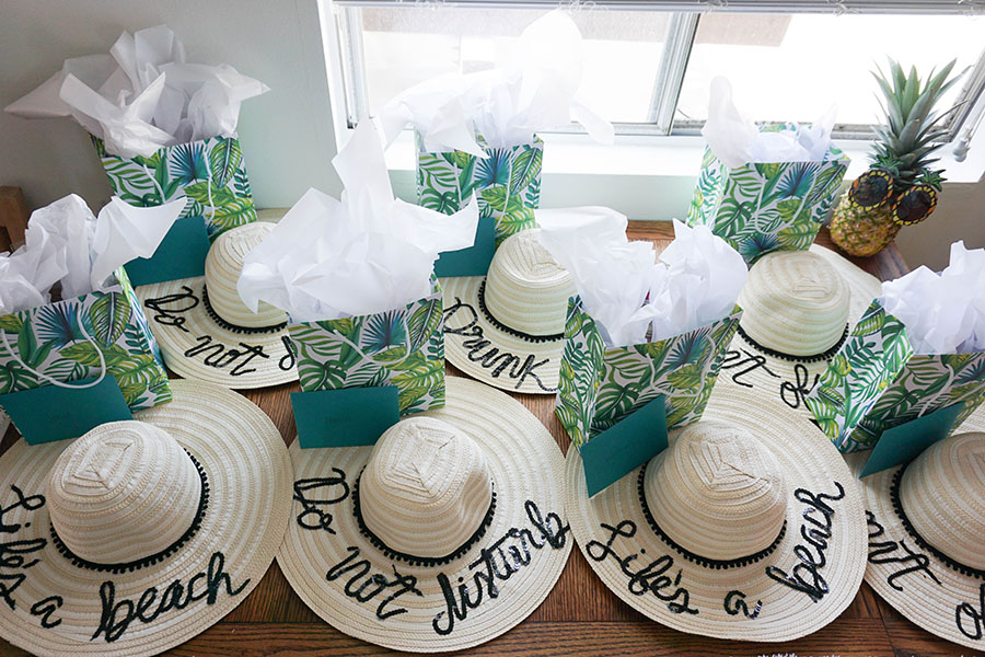 How To Throw The Cutest Beach Bachelorette Party Including DIY Ideas
