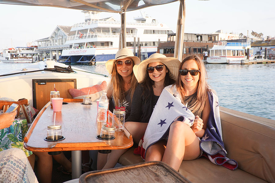 Boat Rentals at Davey's Locker Newport Beach California