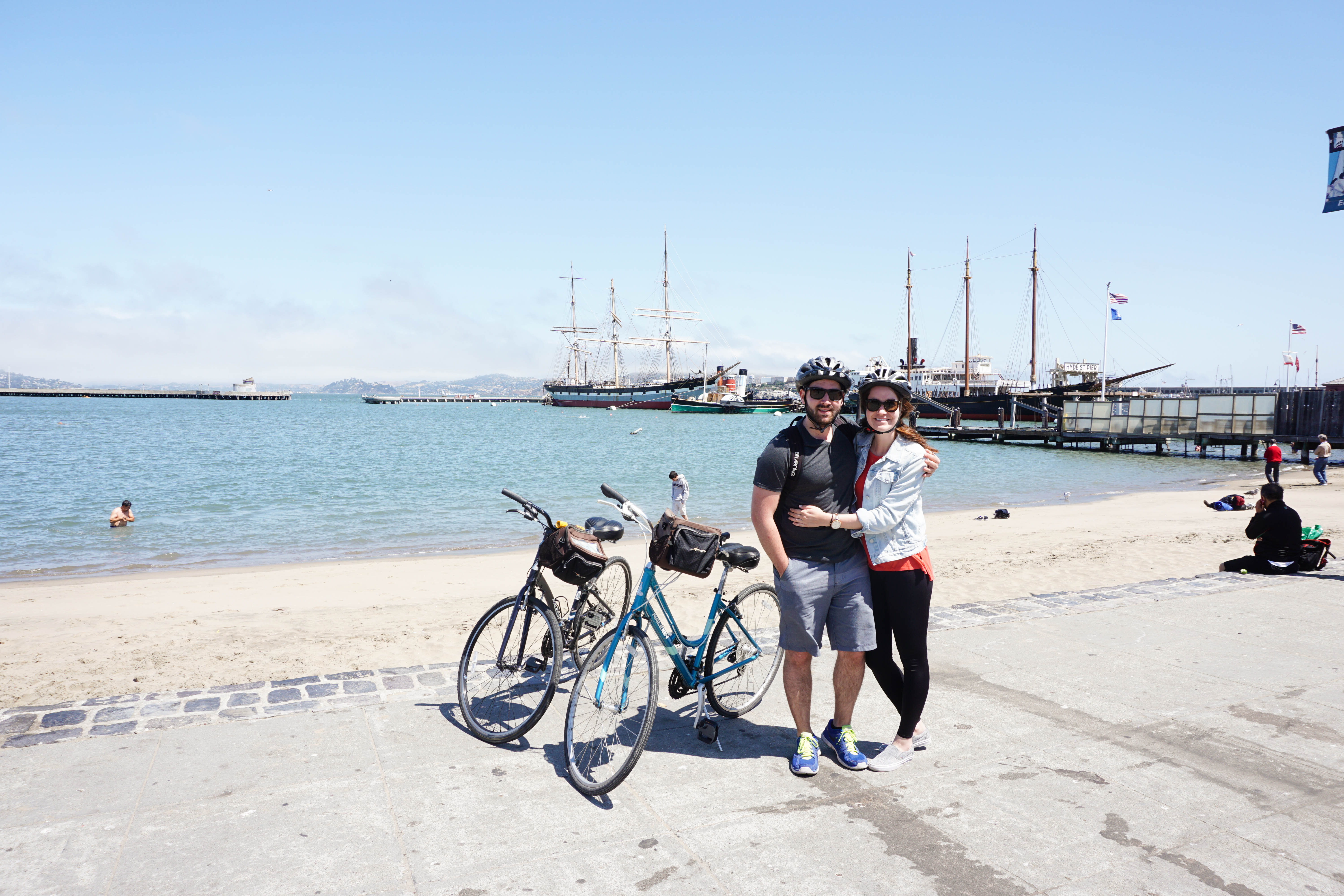 Things To Do in San Francisco -- Bike the Golden Gate Bridge! Details here.