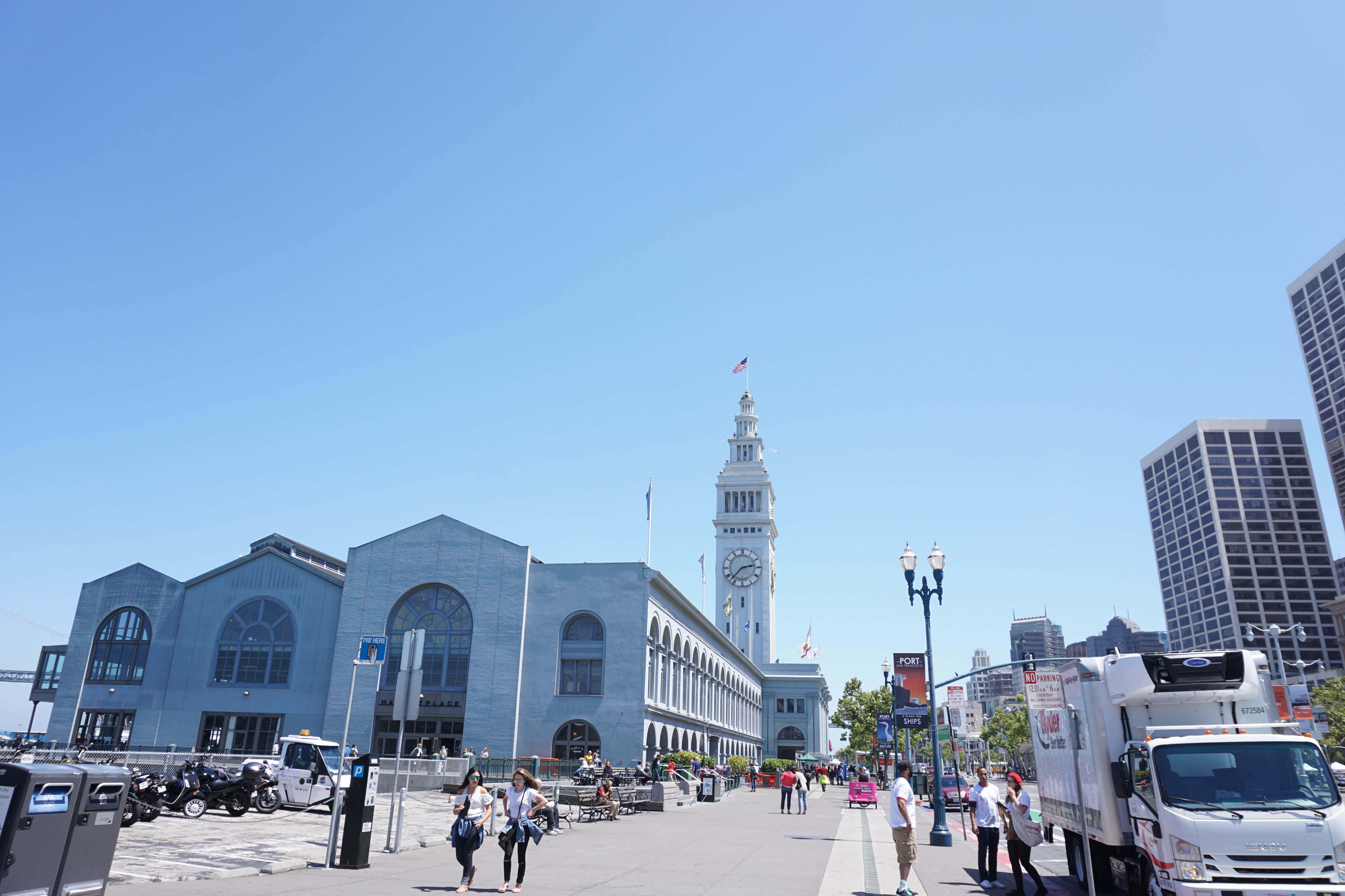 The Ferry Building in San Francisco -- put it on your list! It's so great! Details here.