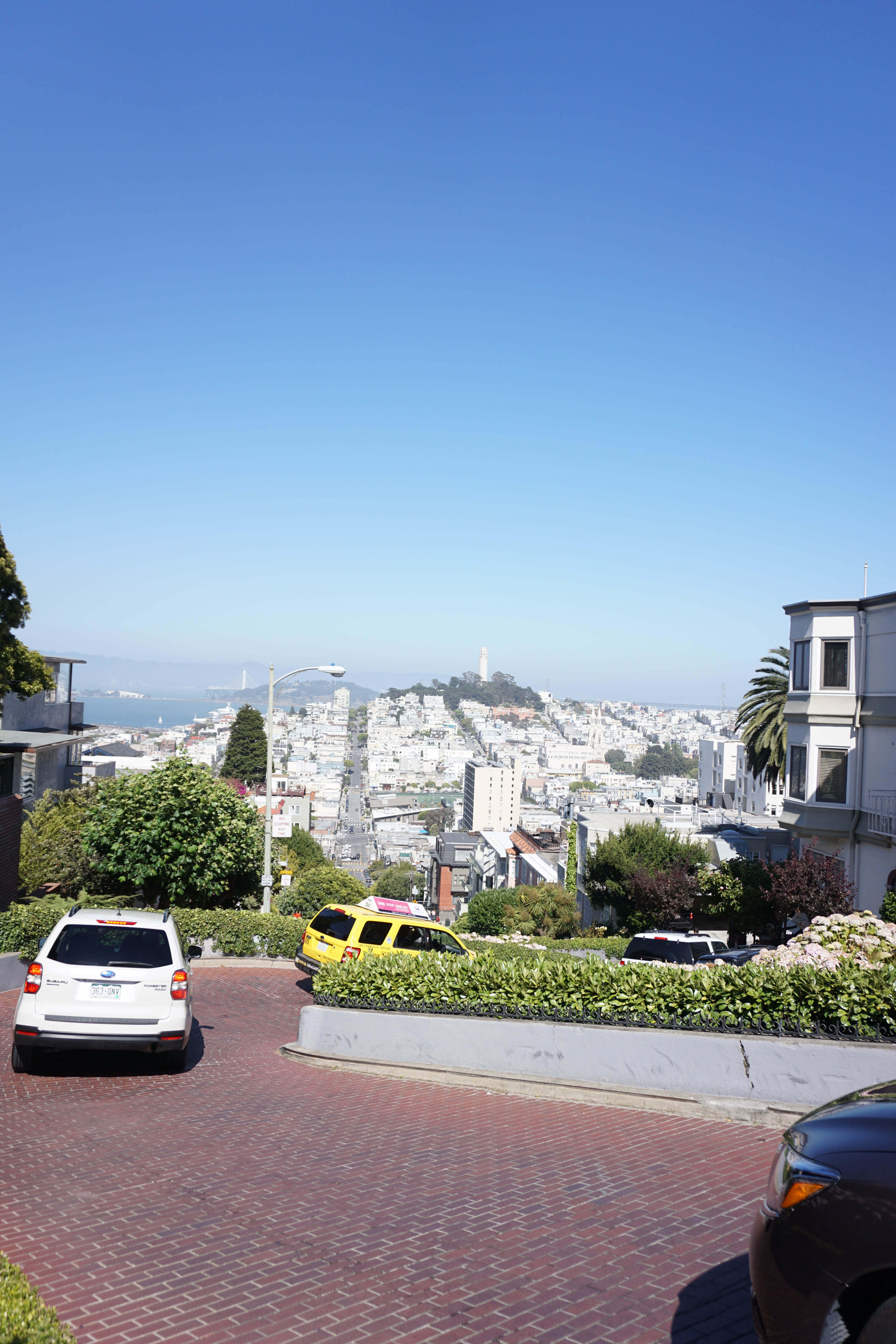 San Francisco Things To Do: Lombard Street. What a great view!
