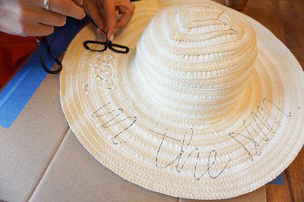 DIY Floppy Hat Tutorial