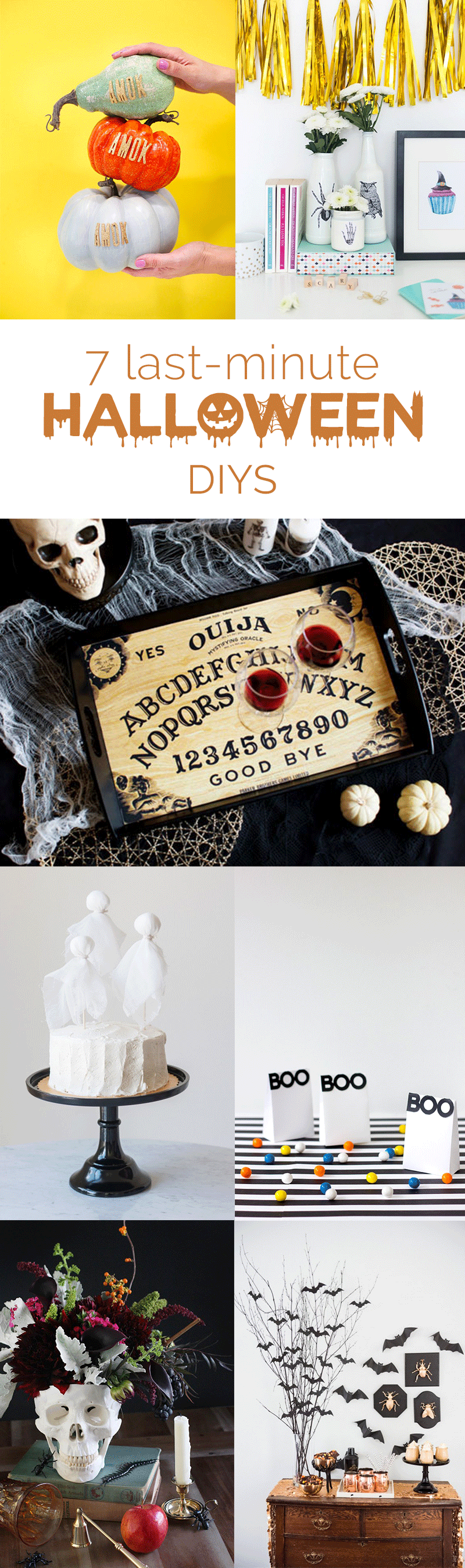 Halloween Decoration DIY Projects