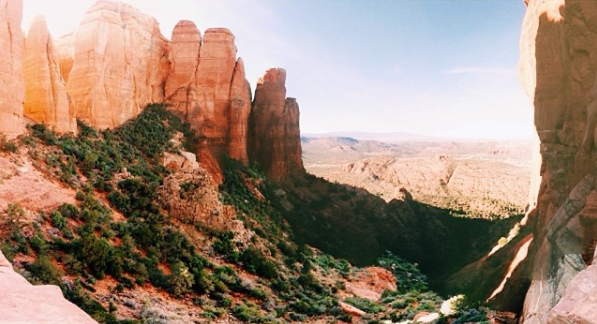 Phoenix, Arizona Travel Guide: A beautiful view from part of the Cathedral Rock hike
