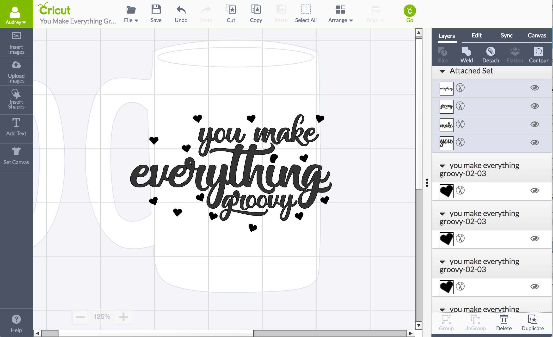 DIY Valentine with FREE .svg cut files for Cricut or Silhouette
