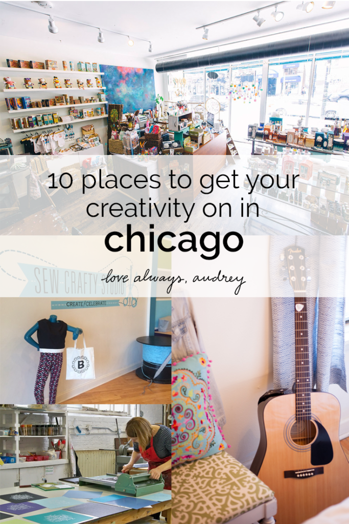 10 must-visit places of creativity in Chicago!