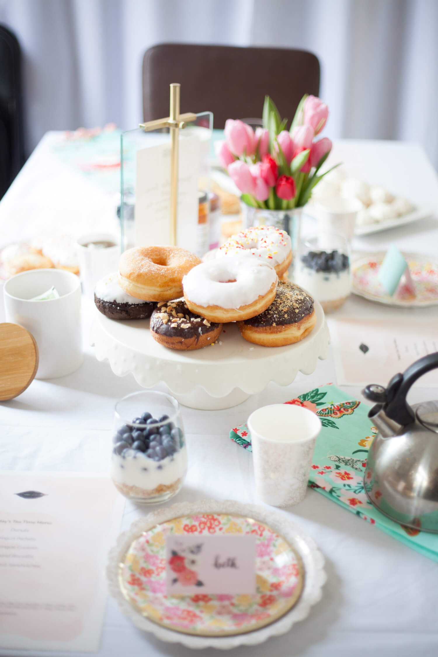 An Easy Tea Party with Paper Source!