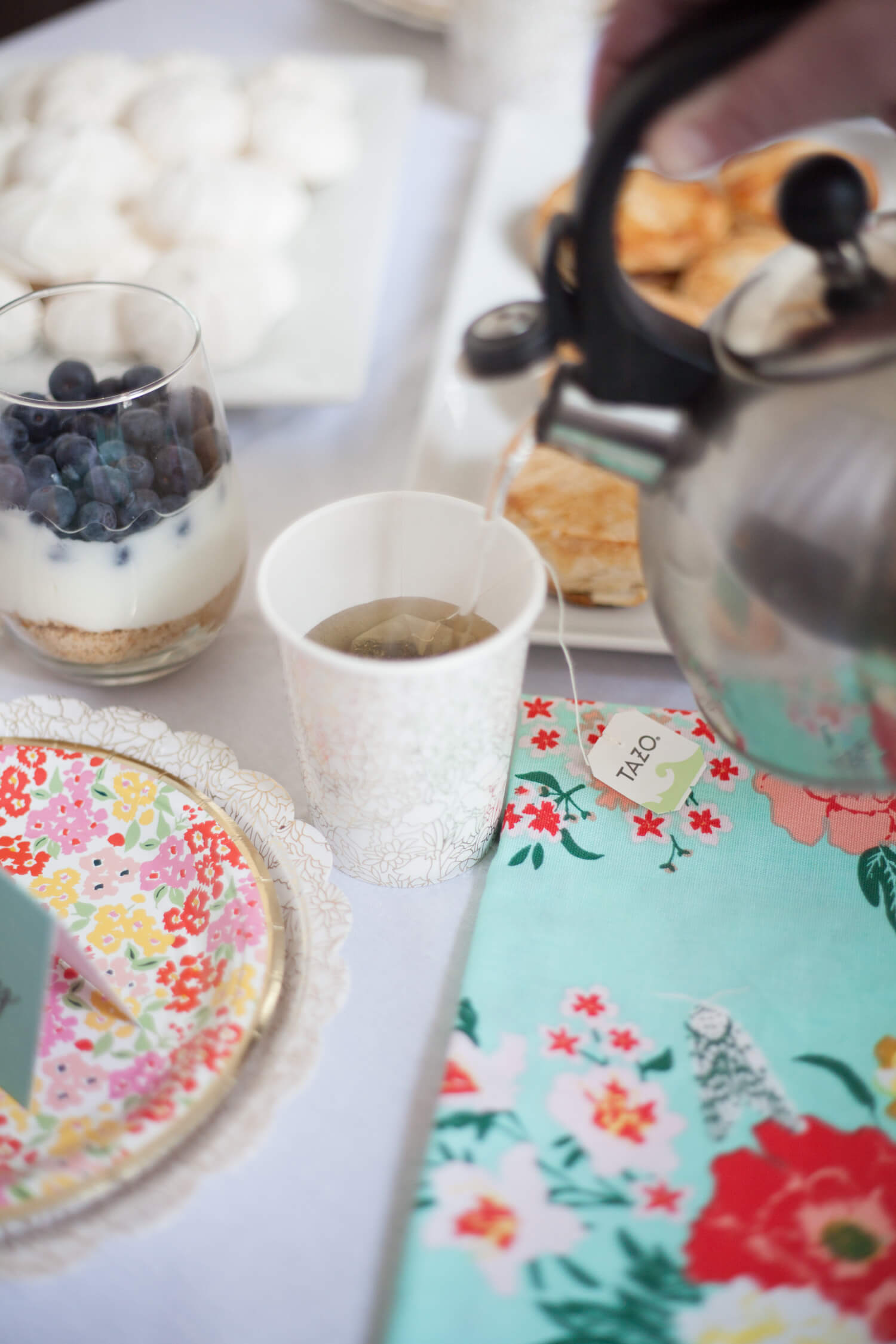 An easy tea party for the adult in you ;) #adulting