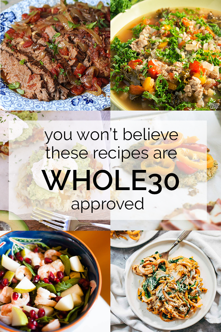 I tried all of these Whole30 recipes and I promise they're ALL delicious!