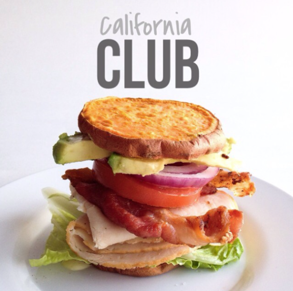Whole30 California Club Sandwich