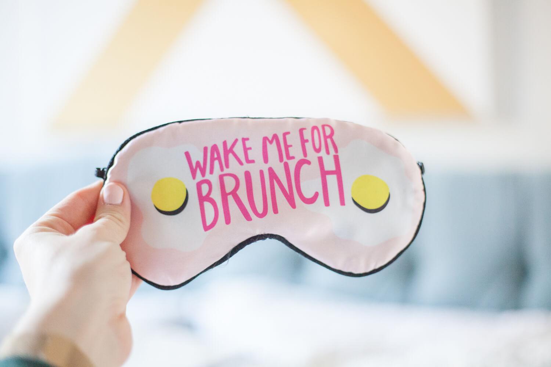 Brunch-themed adult Easter basket idea