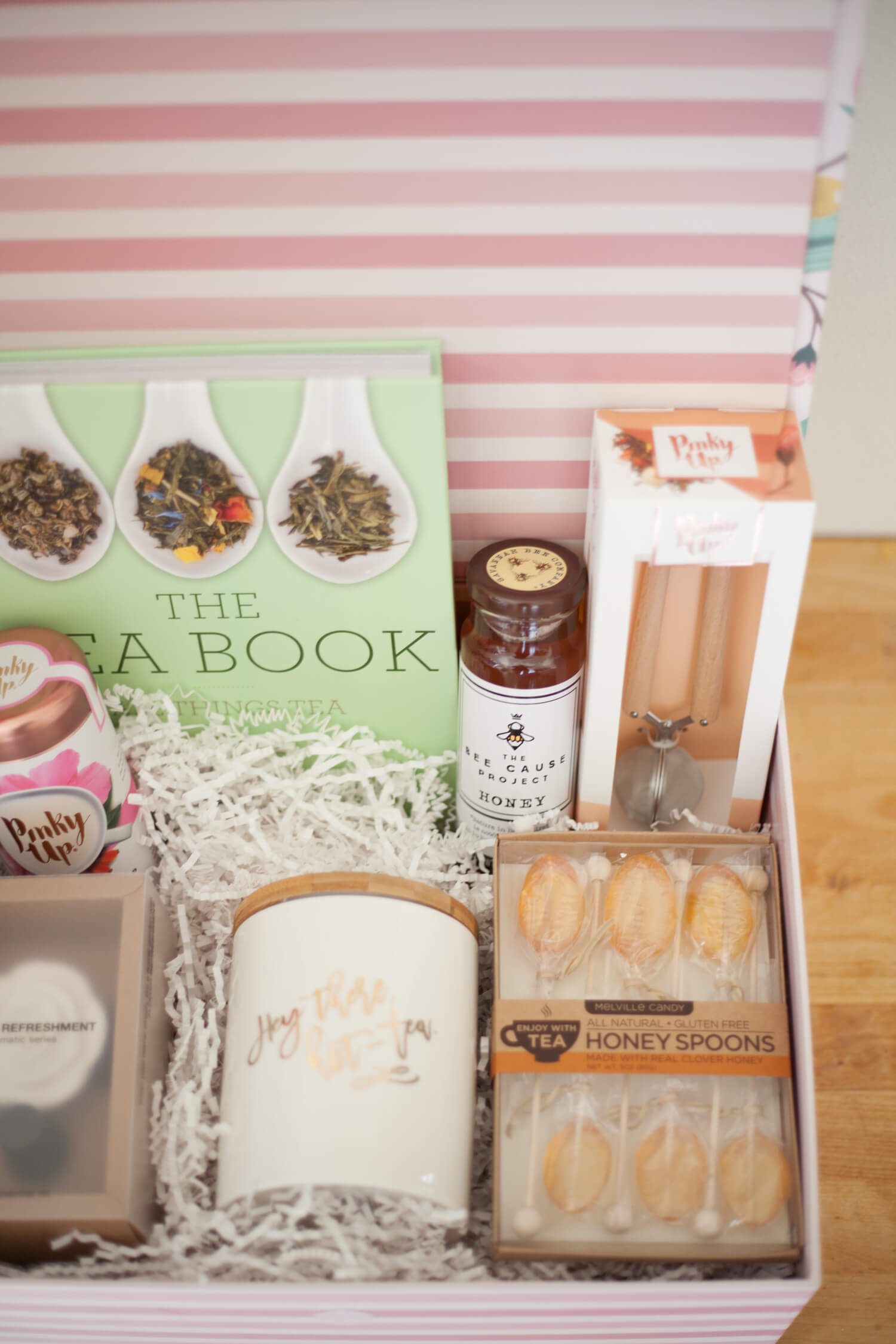 A fun gift basket idea for the tea lover!