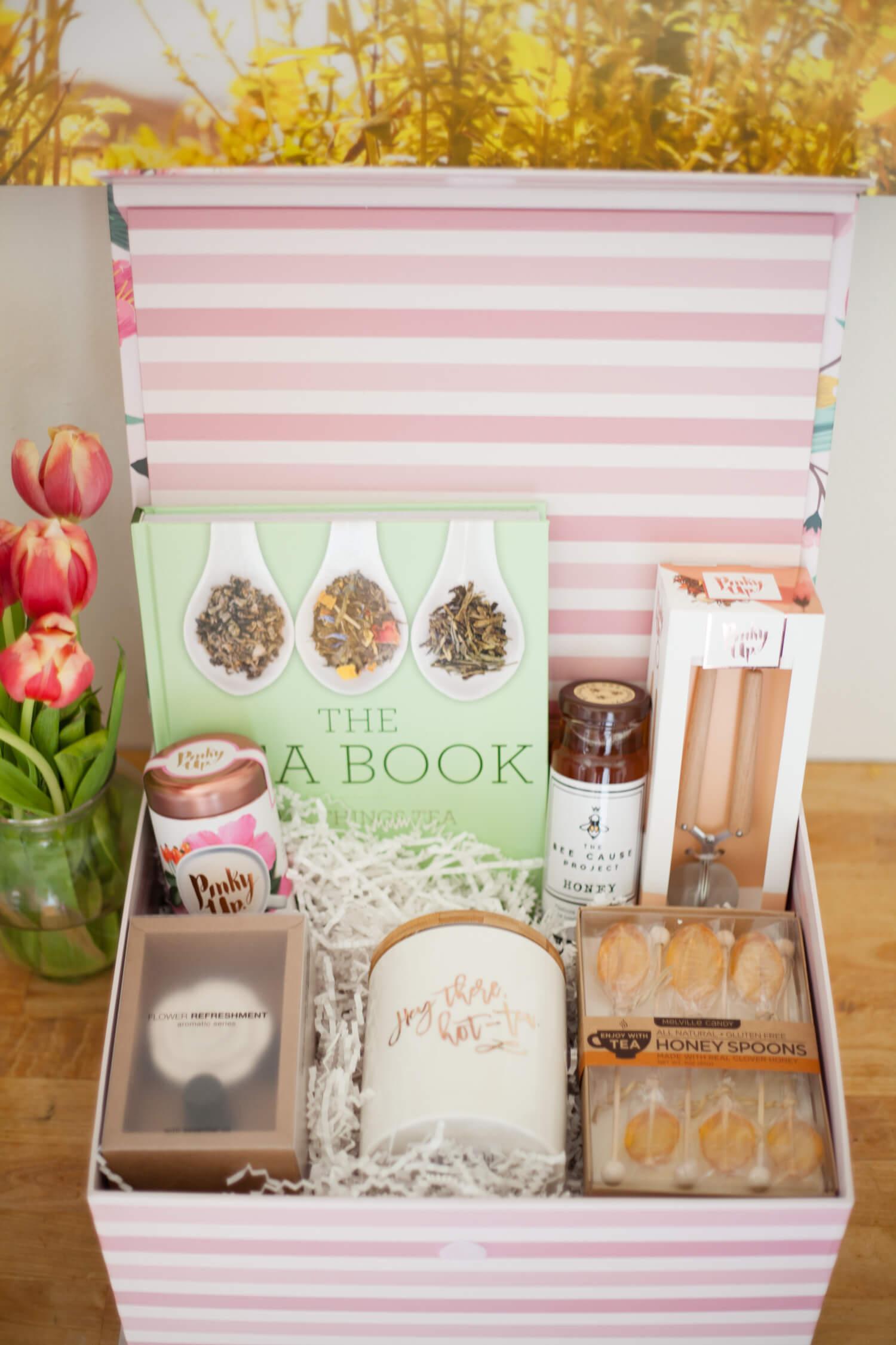 A fun gift basket idea for the tea lover!