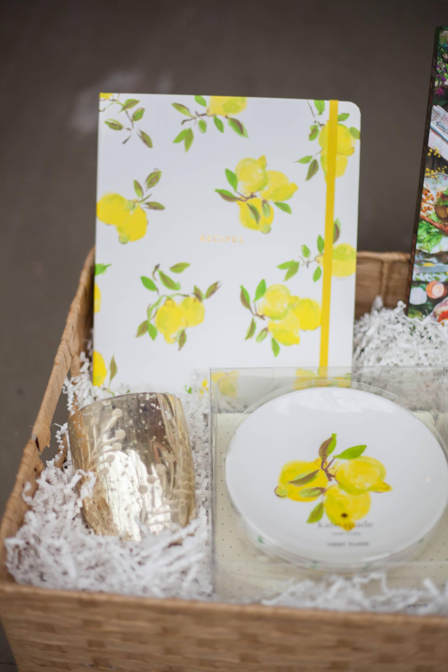Hostess gift basket ideas