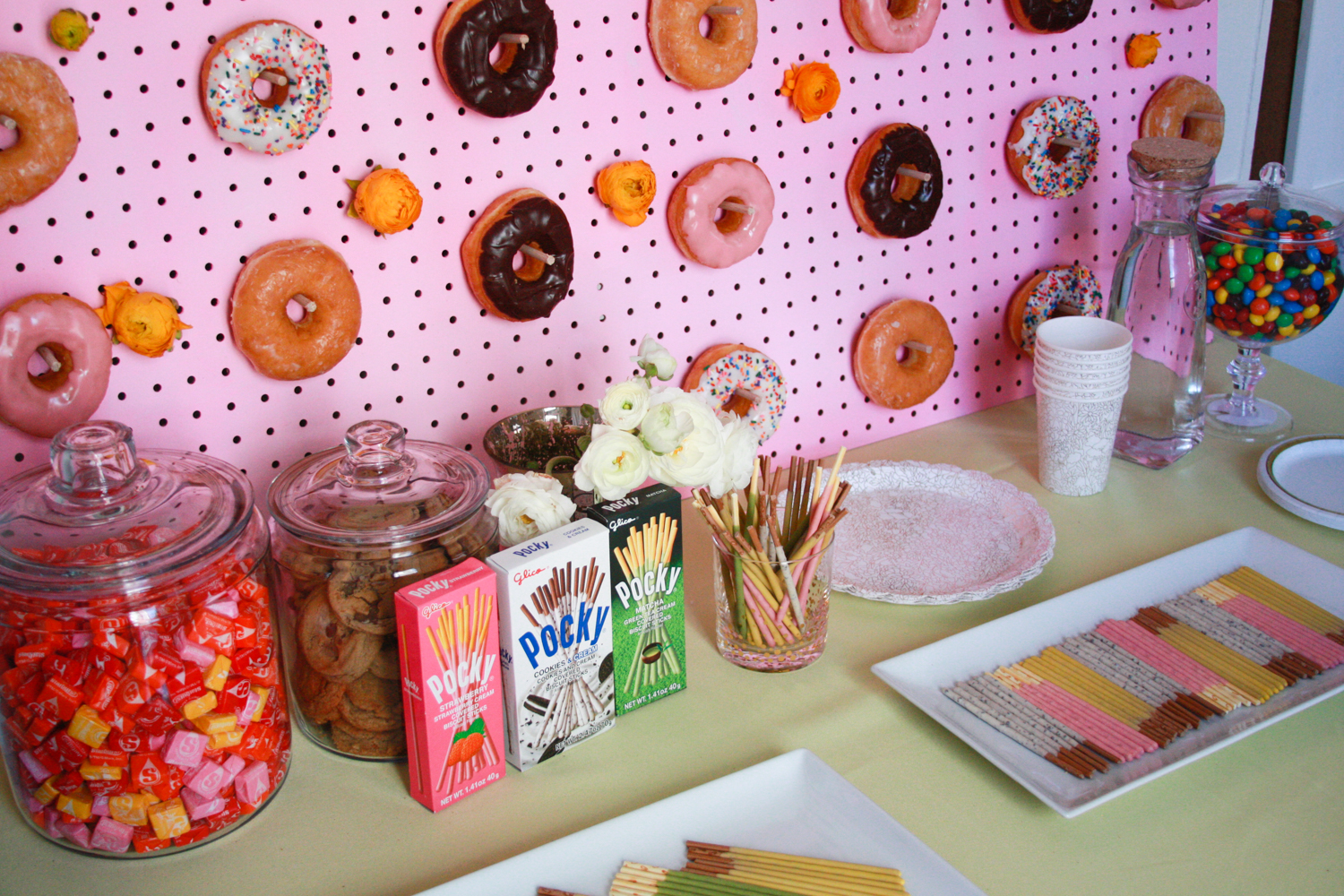 You can't go wrong with a good donut wall DIY!
