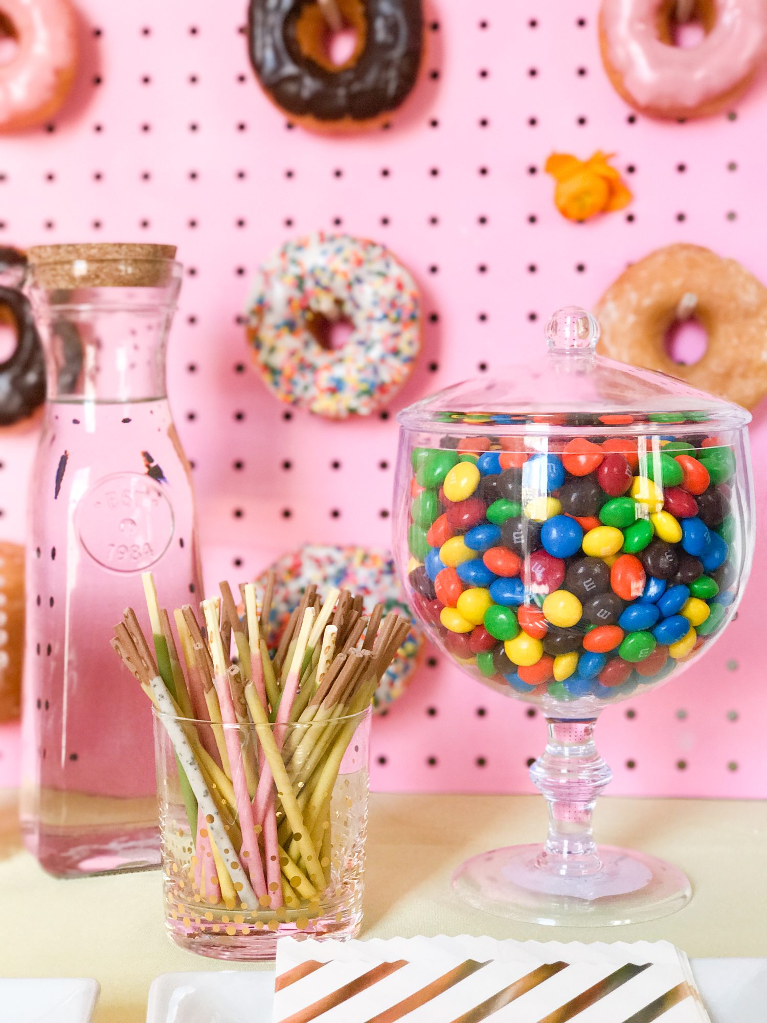 A DIY dessert bar to sweeten up your next party.