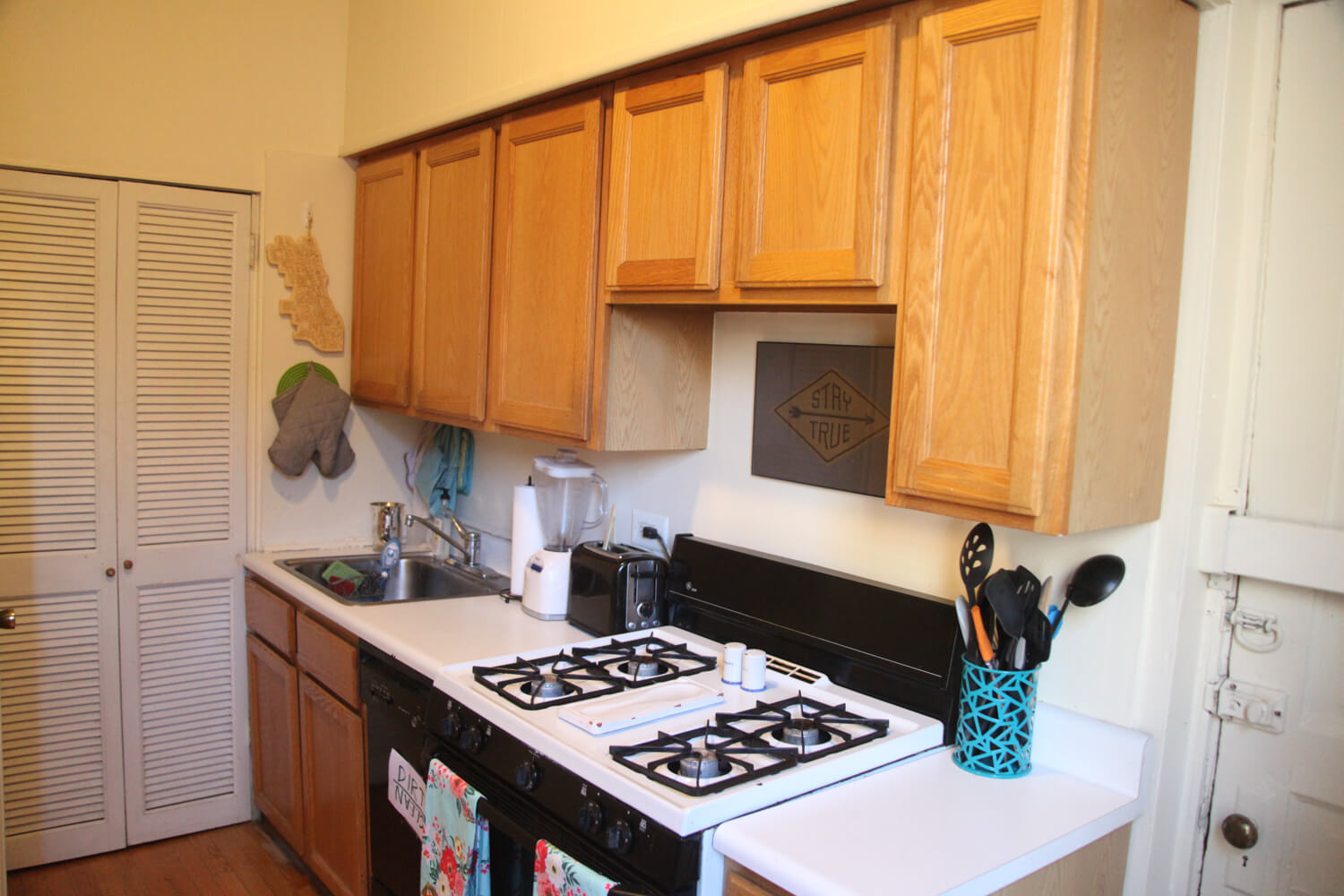 Renovate a rental kitchen