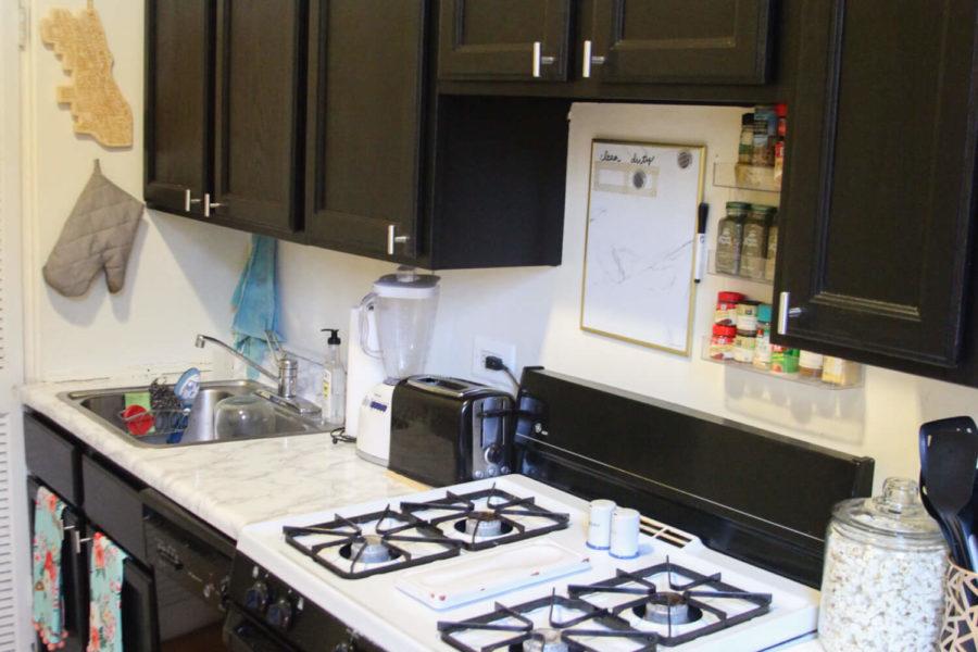 An Easy Rental Kitchen Redo
