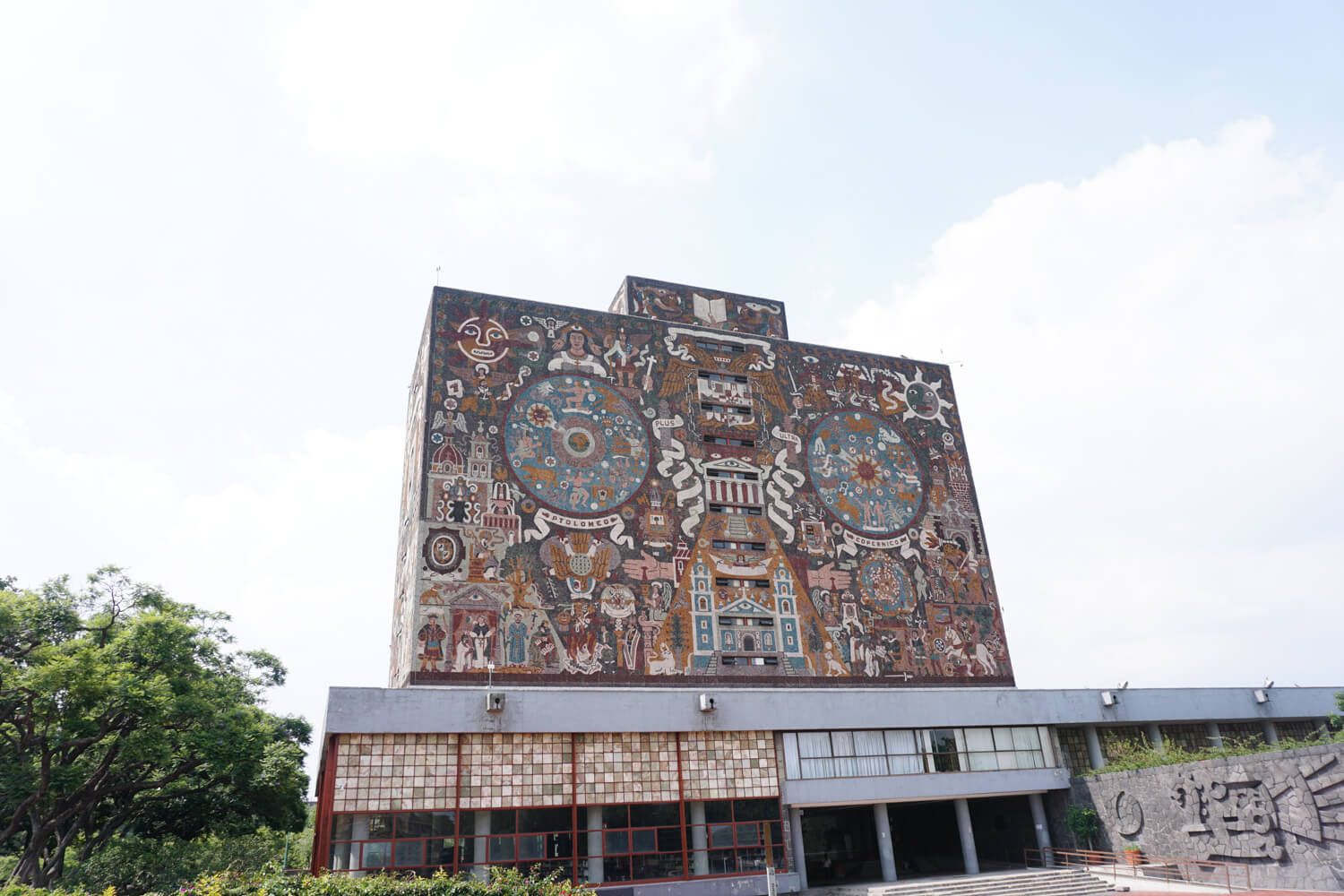 What To Do in Mexico City: Diego Rivera mural at the National University of Mexico