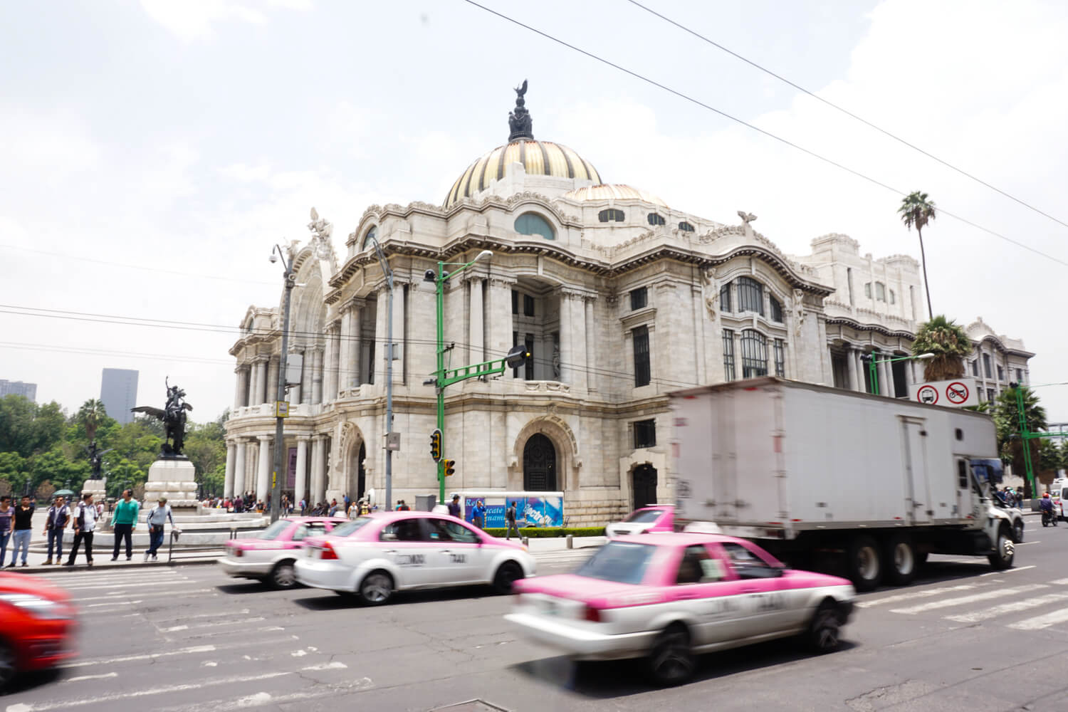 What to do in Mexico City: Palacio de Bellas Artes (Palace of the Fine Arts)