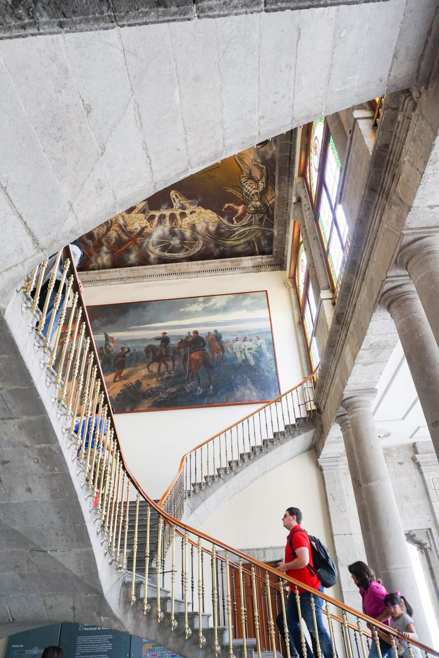 What to do in Mexico City: visit Castillo de Chapultepec