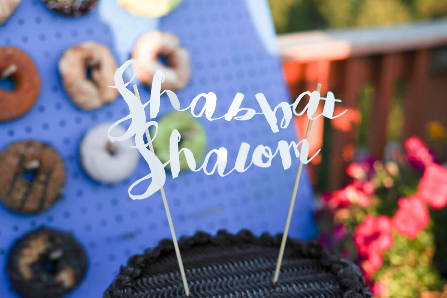 Cricut Cake Topper DIY