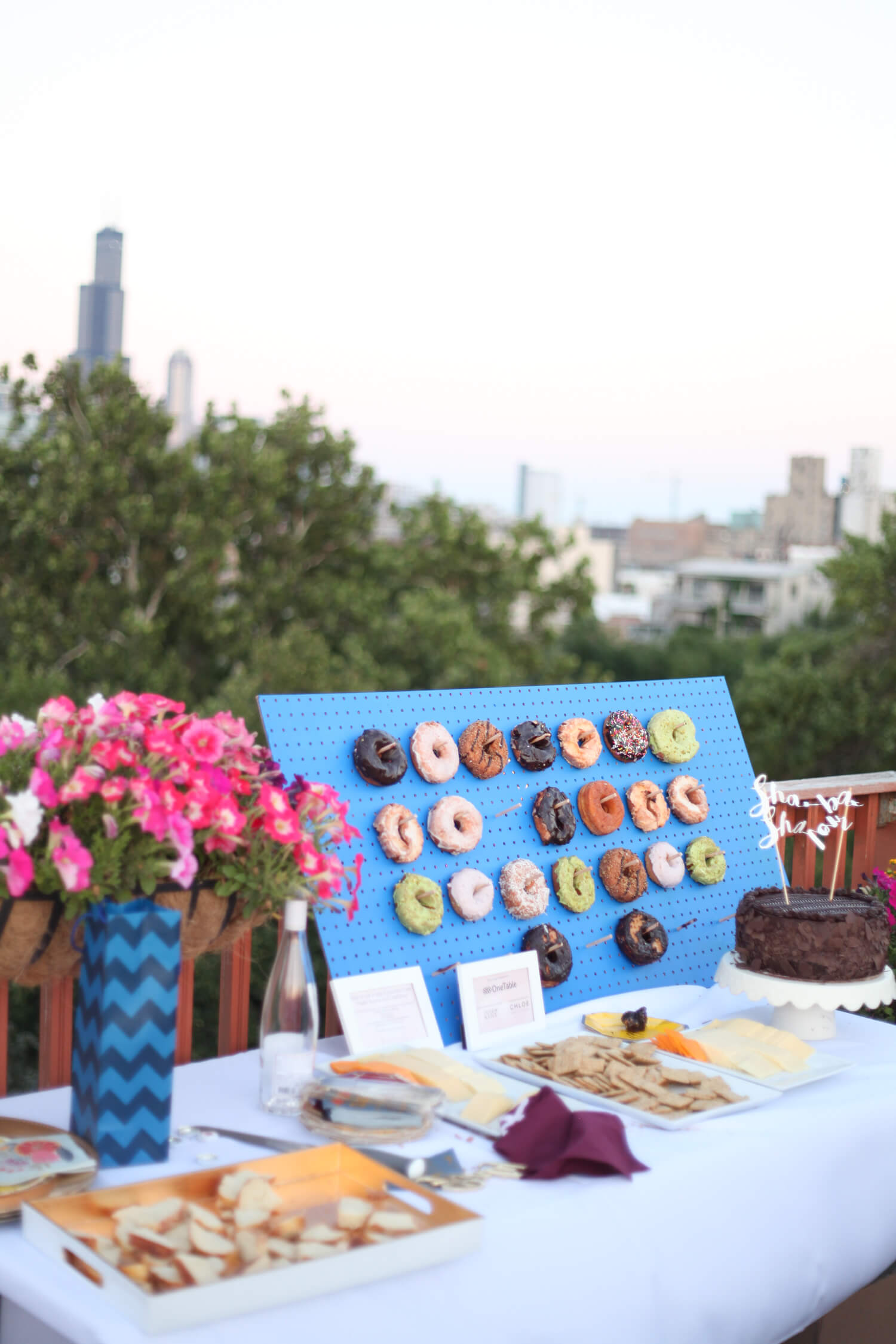 Rooftop dinner ideas