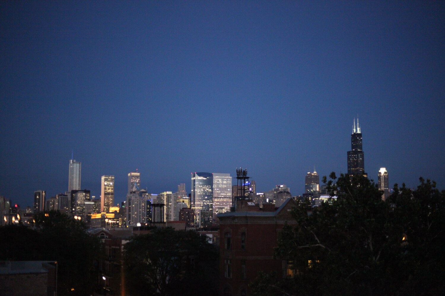 Nothing better than the Chicago skyline.