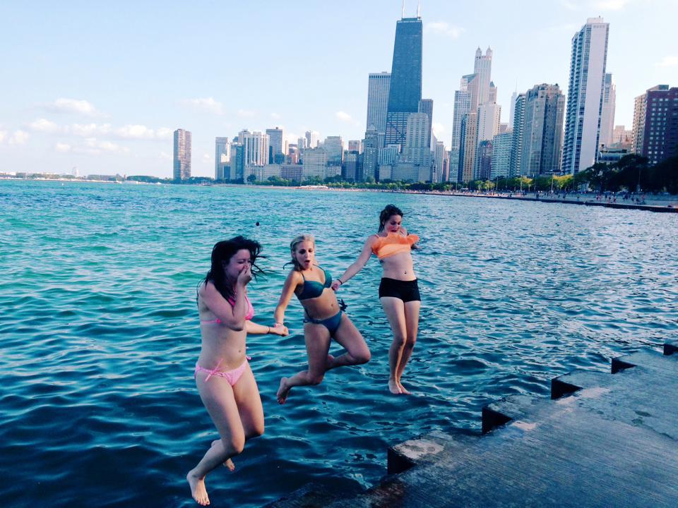 Chicago Bucket List: Jump in Lake Michigan