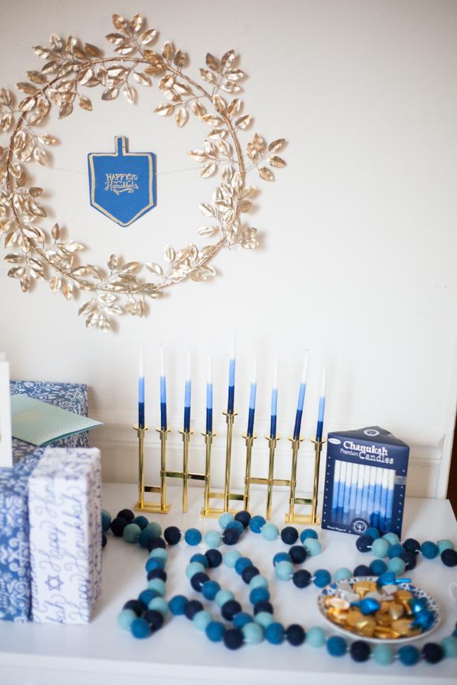 Modern Hanukkah Decorations