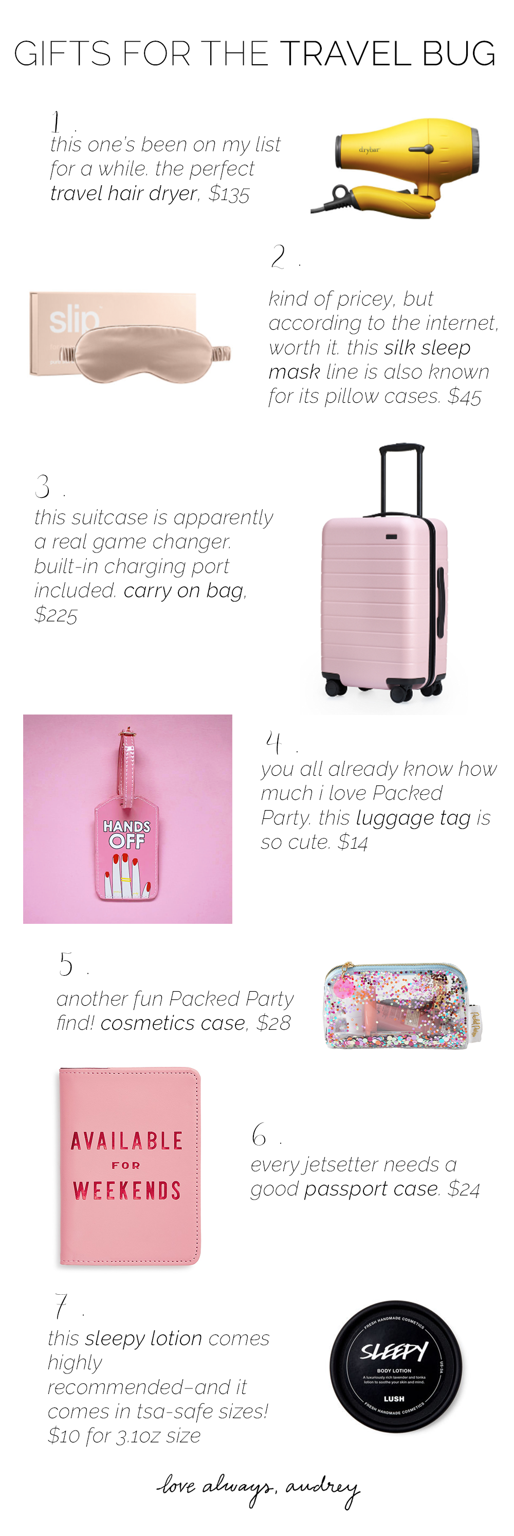 Fun gifts for travelers!
