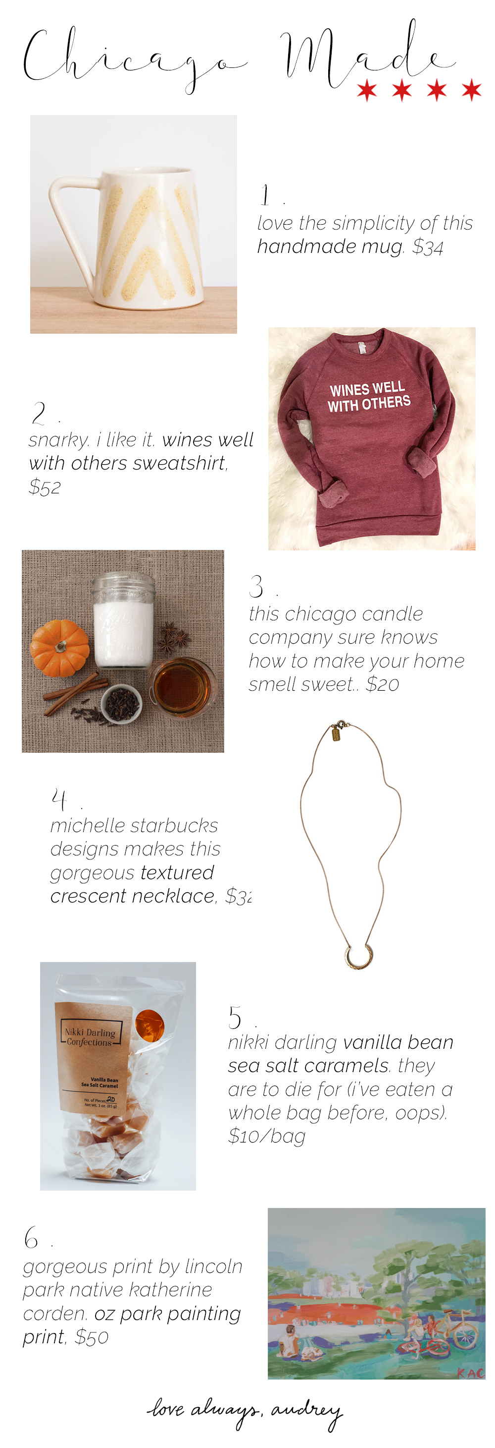Chicago Local Handmade Gift Ideas