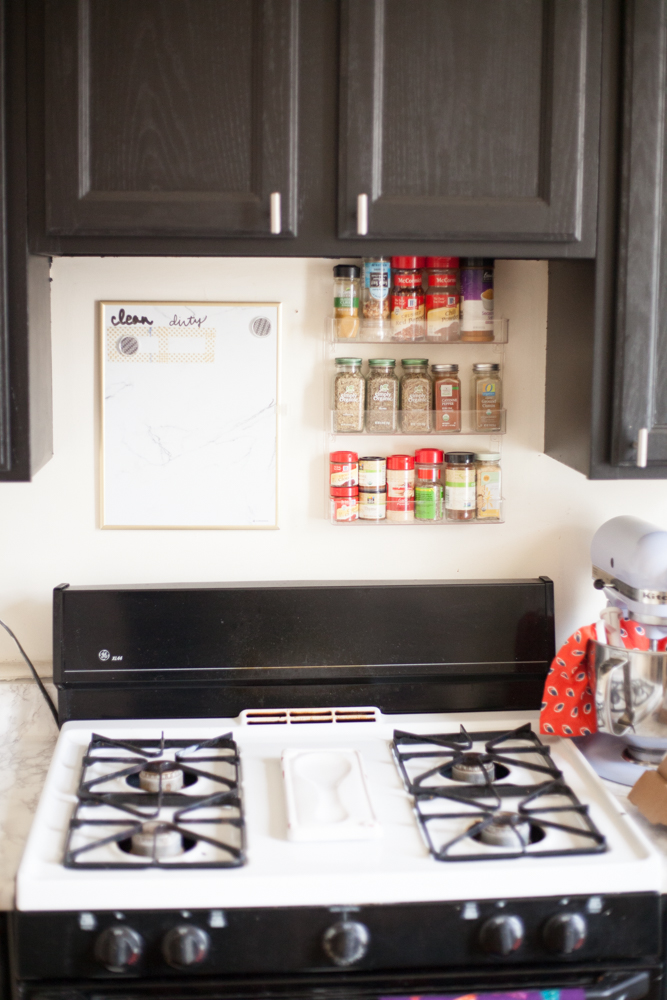 Easy Stick-On Tile Backsplash
