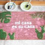 DIY Mi Casa Es Su Casa Doormats