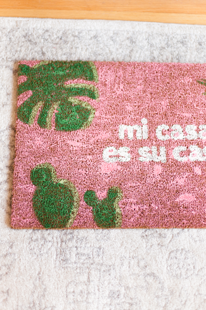 DIY Mi Casa es Su Casa Doormats - Love Always, Audrey blog