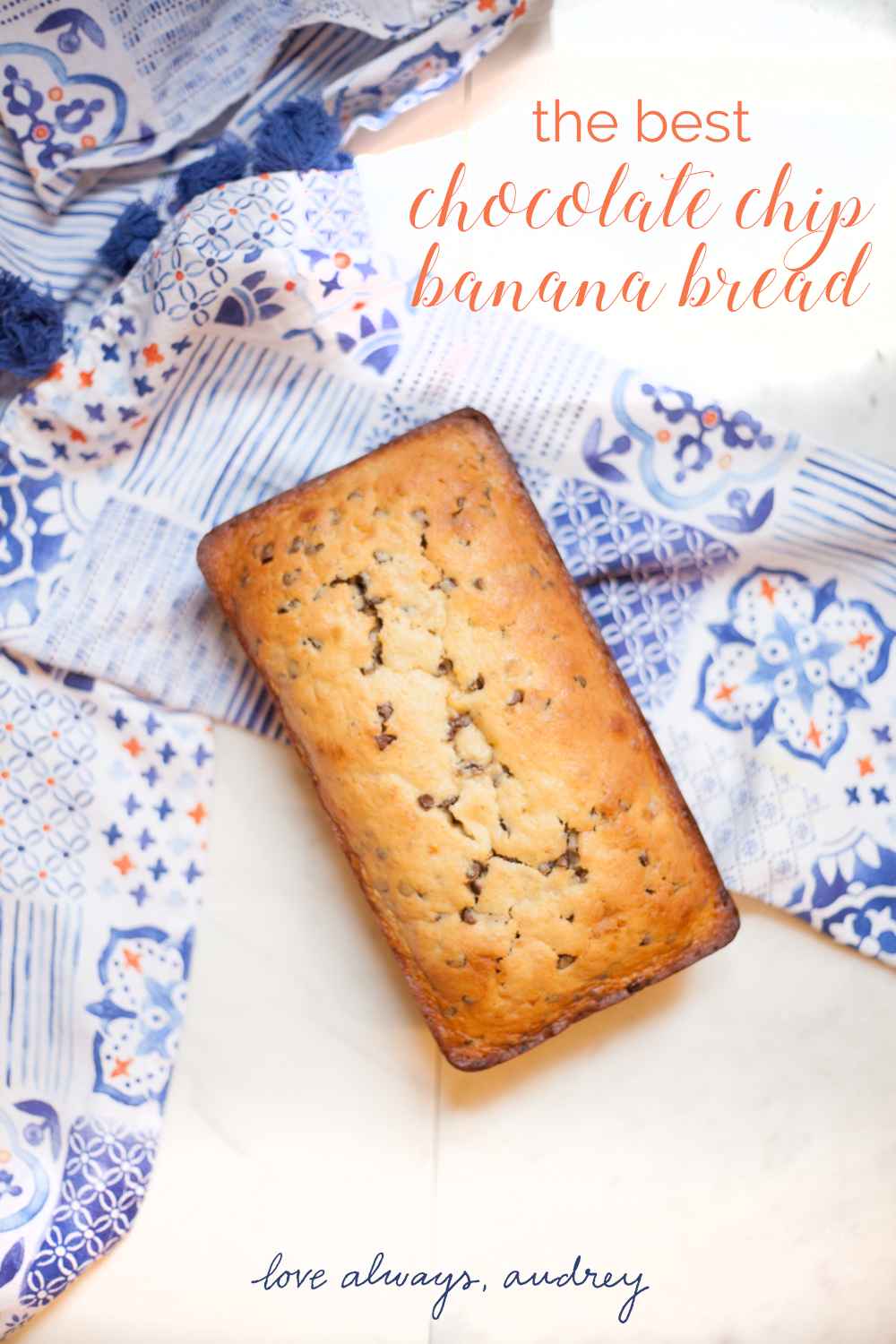 The very best Chocolate Chip Banana Bread recipe!
