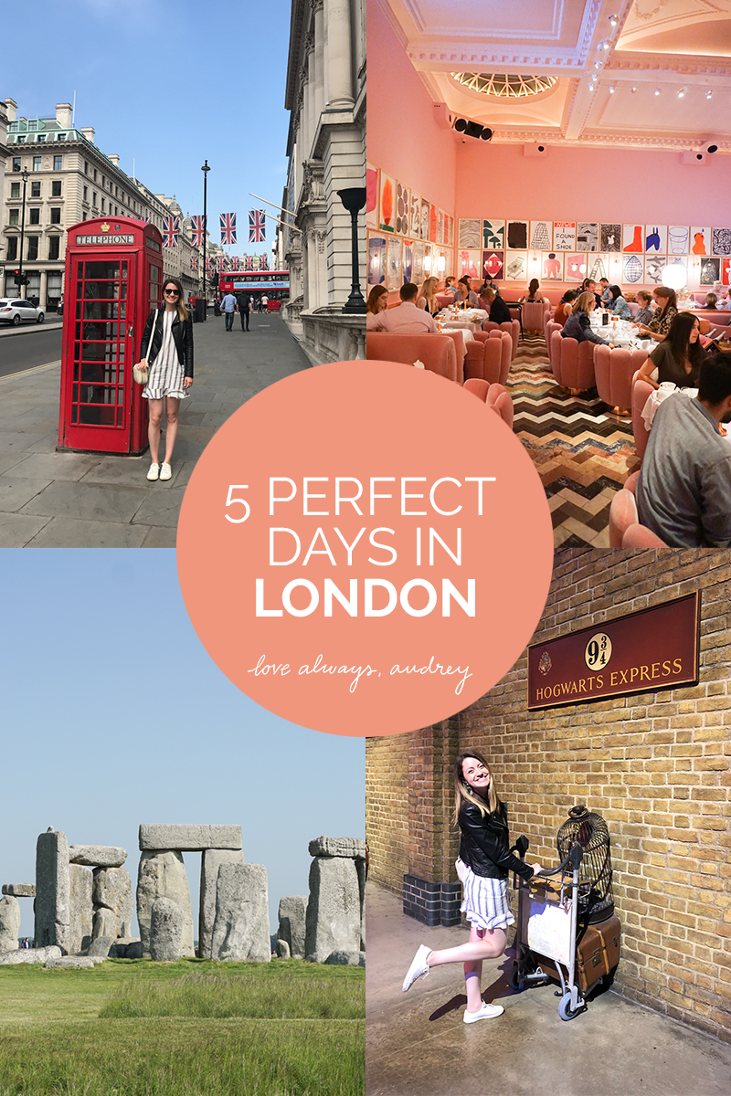5-day London itinerary, things to do in London