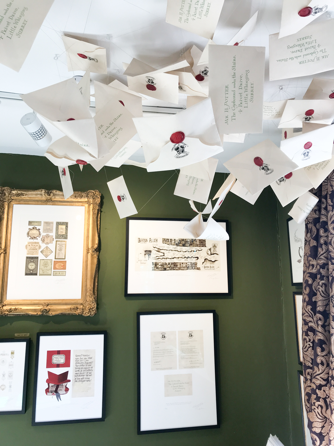 5 Days in London - House of MinaLima for Harry Potter Fans!