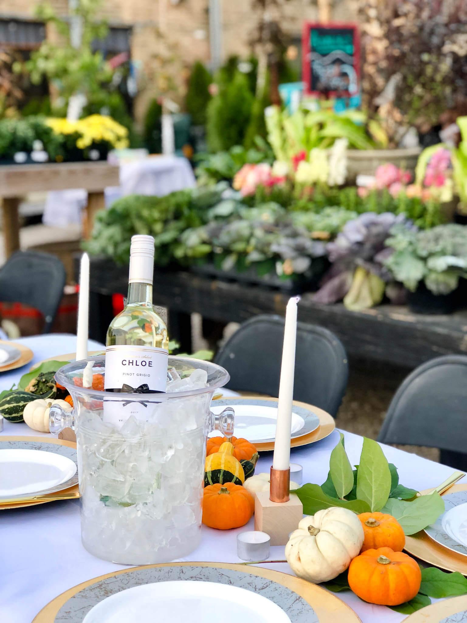 Fall dinner tablescape ideas