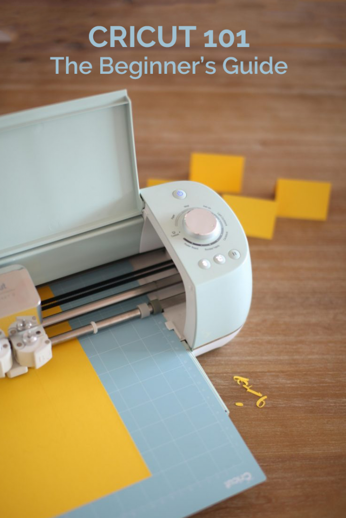 Cricut 101: The guide for beginners!